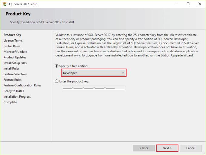 Panduan Cara Install SQL Server