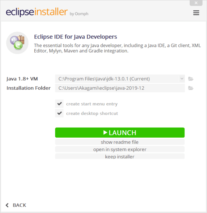 Instalasi Eclipse 7
