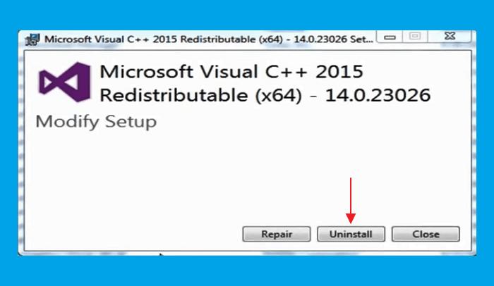 Langkah 4 - Mengatasi Api-Ms-Win-Crt-Runtime-l1-1-0 dll Is Missing