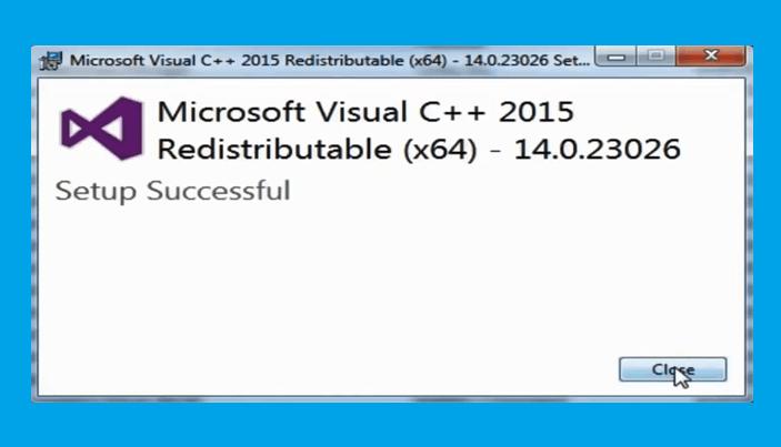 Langkah 5 - Mengatasi Api-Ms-Win-Crt-Runtime-l1-1-0 dll Is Missing