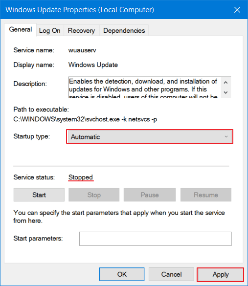 cara mengatasi windows update error pada windows 10