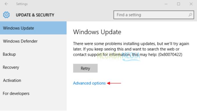 cara mengatasi windows update error 80072efd