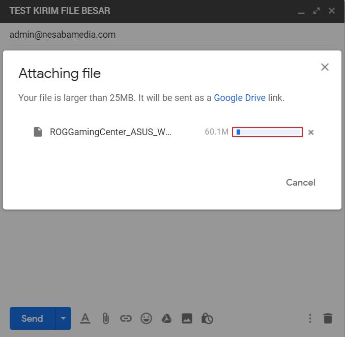 Mengirim File Besar Lewat Email 3