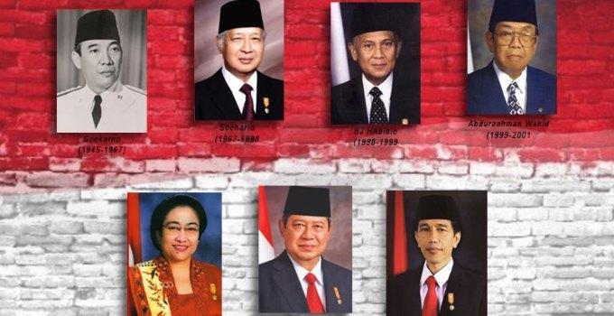 Urutan Presiden Indonesia