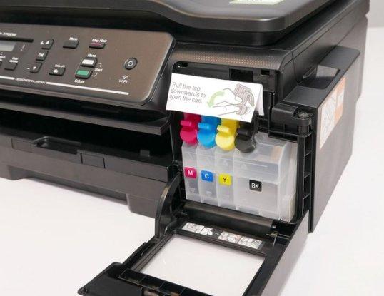 Printer InkJet Infus Adalah