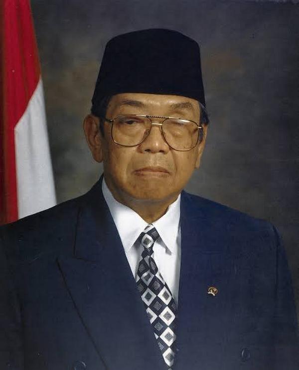 Urutan Presiden Indonesia dan Wakilnya - Gus Dur