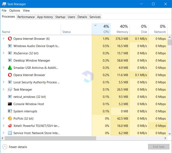 Cara Melihat Aplikasi yang Berjalan di Laptop 4