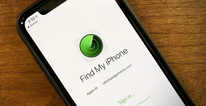 Cara Mematikan Find My iPhone