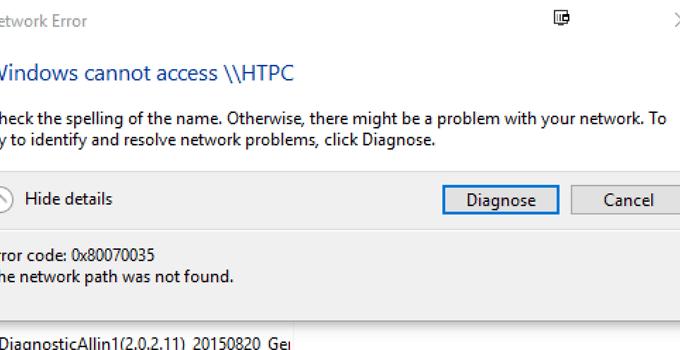 Cara Mengatasi Windows Cannot Access