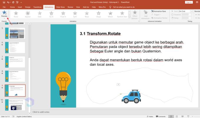 Gambar Bergerak di Powerpoint - Nesabamedia 4