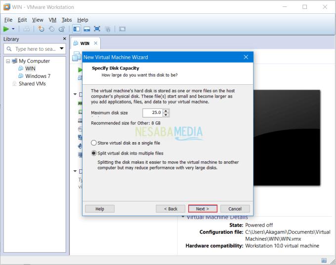 Install Sistem Operasi di VMware 8