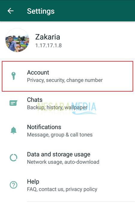 cara menghilangkan centang biru di whatsapp biasa