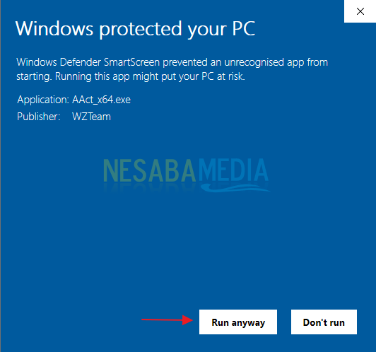 Menghilangkan Pesan Activate Windows 9