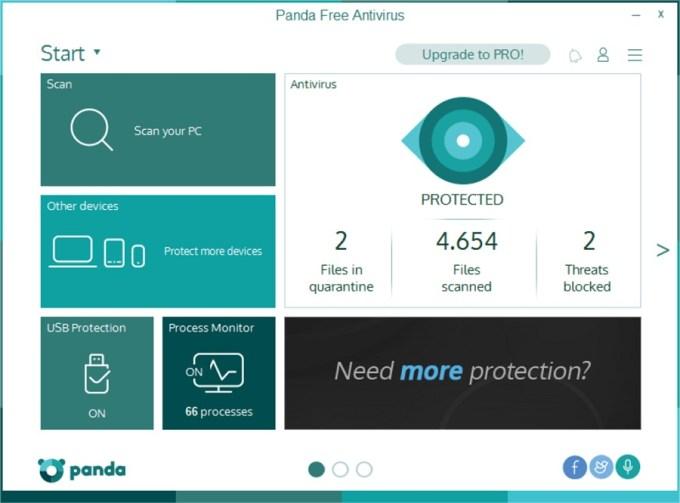 Panda Free Antivirus - Aplikasi Antivirus untuk PC / Laptop