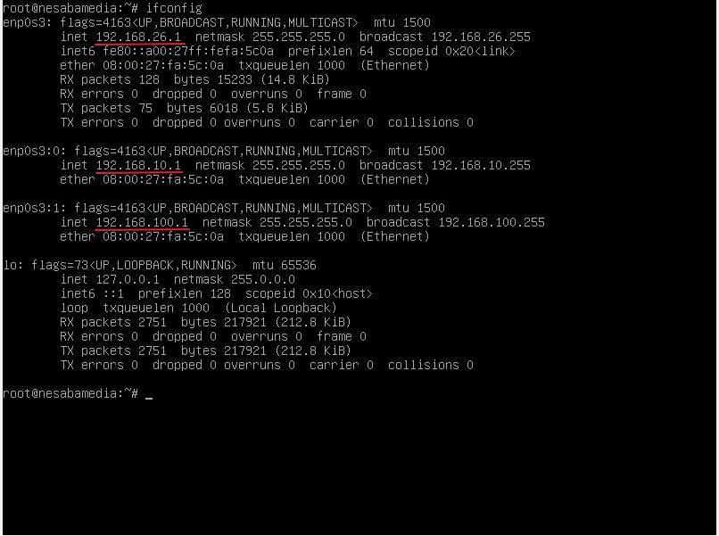 Setting IP Address Debian 10 Virtualbox