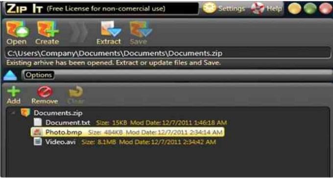 Zip It - Aplikasi Kompres File untuk PC / Laptop