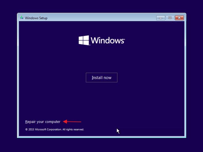 laptop tidak bisa masuk windows 10
