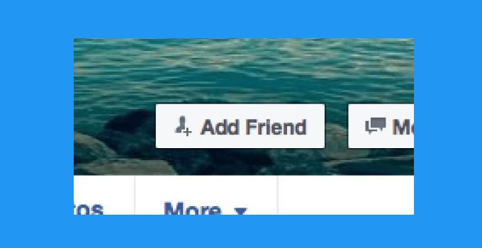 cara menghilangkan tombol add friend di facebook lewat hp