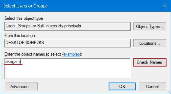 mengatasi windows cannot access 5
