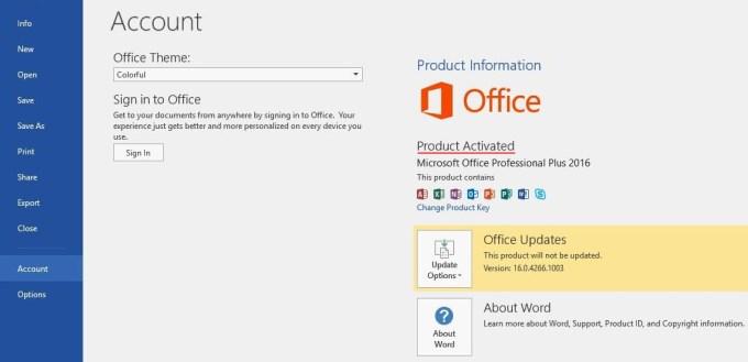 Aktivasi Microsoft Office 2016 - Part 7