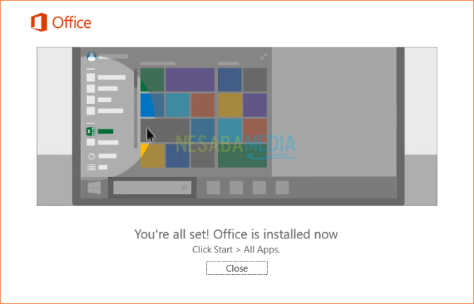 Install Microsoft Office 2016 - Step 4