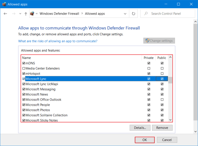 Windows Firewall Has Blocked Some Features of This Program - Allow 4