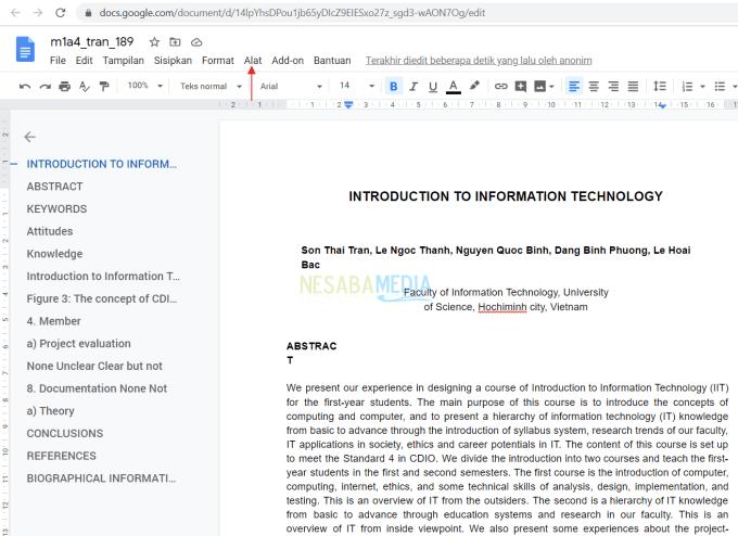 Cara Translate Dokumen Menggunakan Google Drive