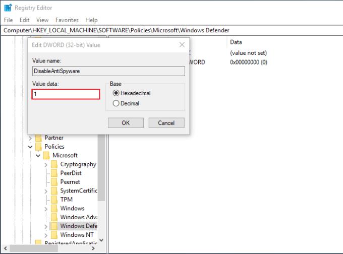Mengatasi Windows Defender Tidak Bisa Dimatikan 12
