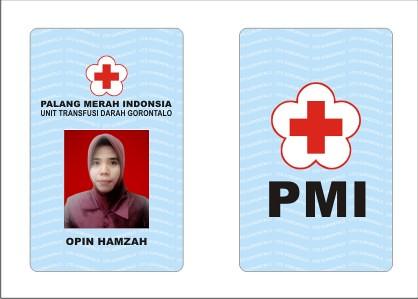 Contoh ID Card untuk PMI