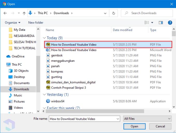 Kompres File PDF dengan CleverPDF 3