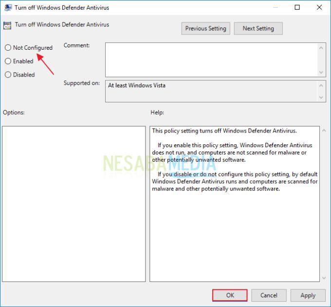 Mengatasi Windows Defender Tidak Bisa Dibuka 13