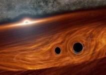 Fenomena Tabrakan Dua Black Hole Raksasa