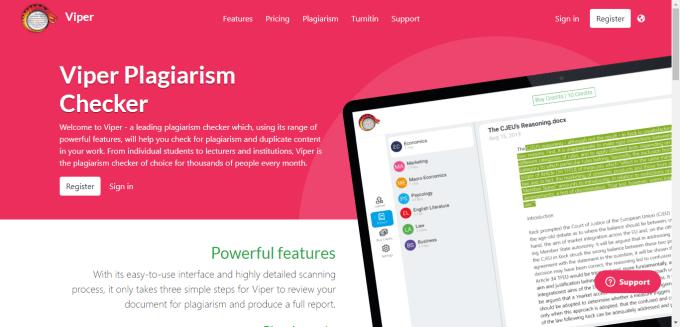 Aplikasi untuk Mengecek Plagiarism Online Viper Anti-Plagiarism Scanner