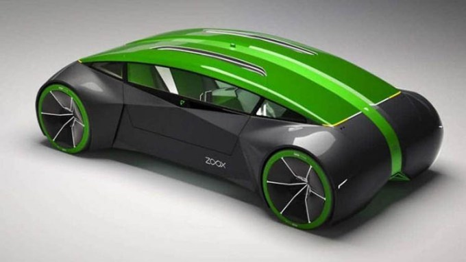 Konsep Kendaraan Self Driving Zoox