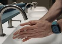 cuci tangan dengan fitur apple watch