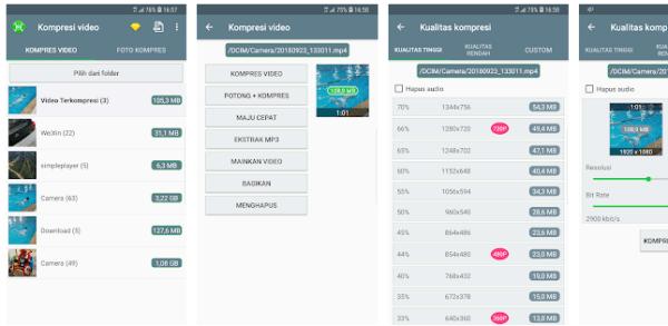 Aplikasi Kompres File Android Gratis