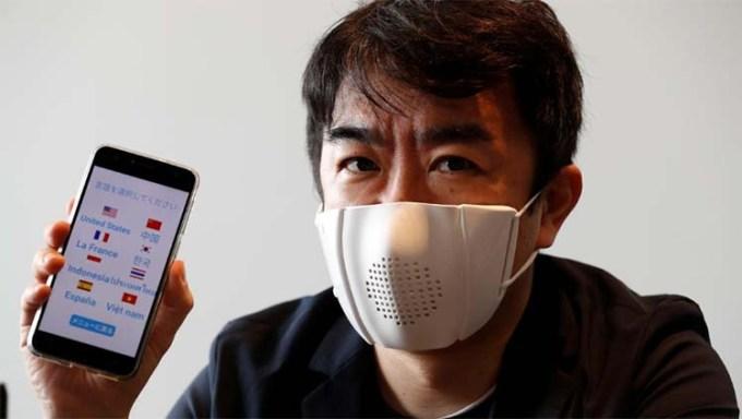 C-Mask Masker Penerjemah Bahasa