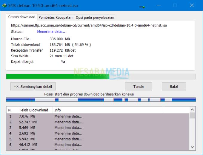 Download File Besar Menggunakan IDM 8