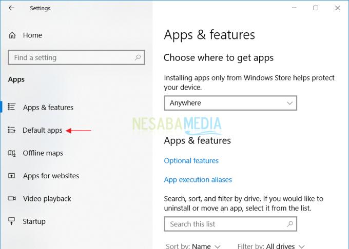 Mengganti Default Browser di Windows 3
