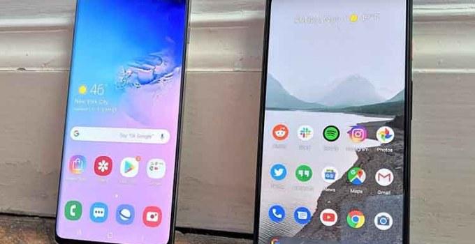 Ponsel Android Teraman Google Pixel 4 Samsung Galaxy S20