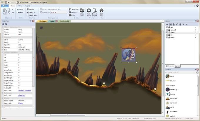 Aplikasi Pembuat Game untuk PC / Laptop