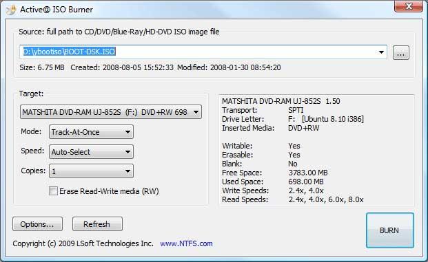 Aplikasi untuk Burning CD / DVD di PC dan Laptop