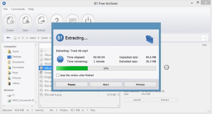 Aplikasi Ekstrak File RAR / ZIP di Laptop Windows