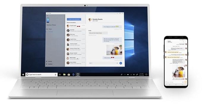 Aplikasi Your Phone di Windows 10