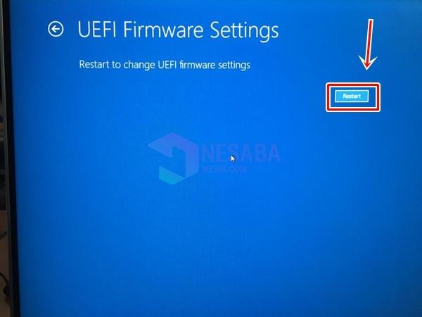 Cara Mengaktifkan Intel VT-x di Firmware BIOS atau UEFI