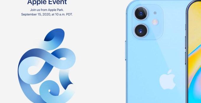 Acara Apple 15 September 2020