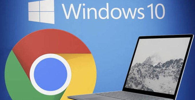 Google Chrome di Perangkat Windows RAM