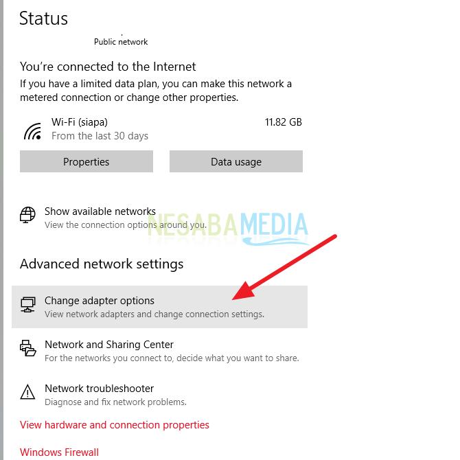 cara sharing file di windows 10