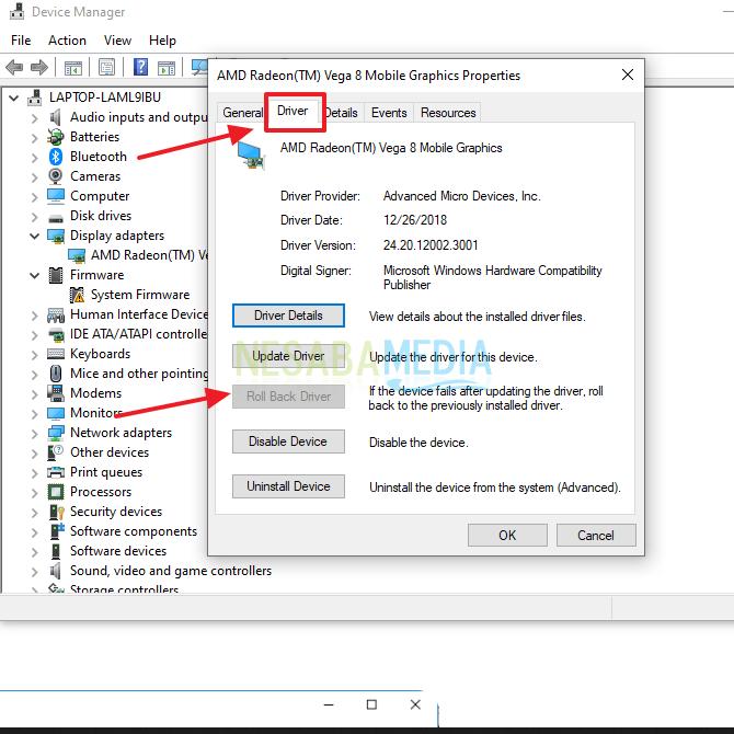 cara mengatasi brightness yang tidak berfungsi pada windows 10