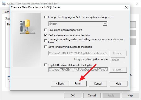 Cara Setting ODBC di Windows 10 Terbaru
